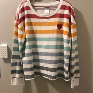 Colorful Heart Sweatshirt